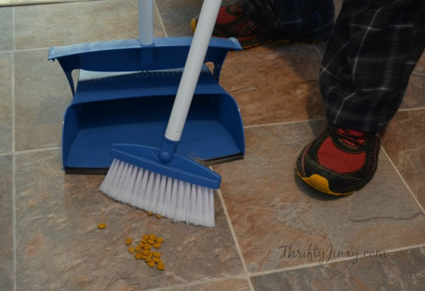 Butler Neat Sweet Broom and Dustpan