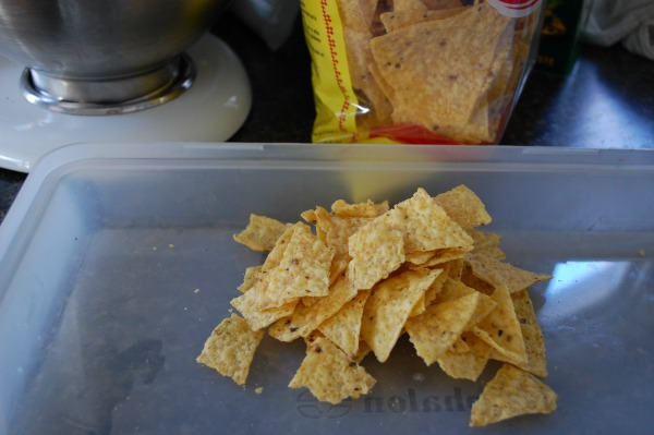 Break Tortilla Chips and Chicarrones