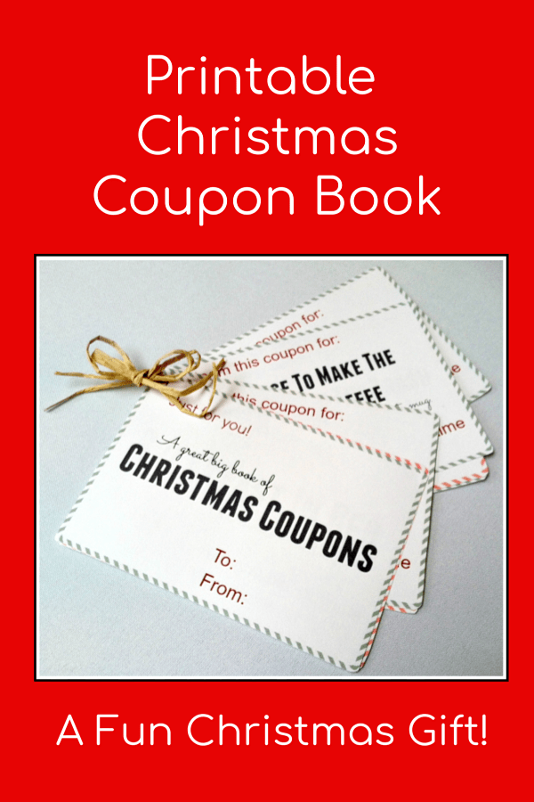 image relating to Printable Christmas Books named Printable Xmas Discount codes Guides - Enjoyable Very last Second Present
