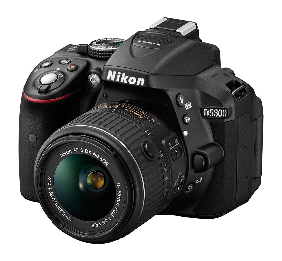 Nikon D5300 DSLR w/18-55mm VR Lens