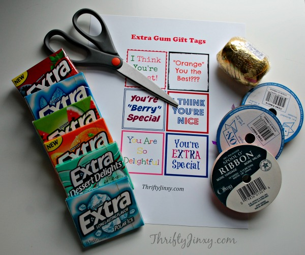 Extra Gum Gift Instructions