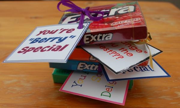 Extra Gum Printable Labels