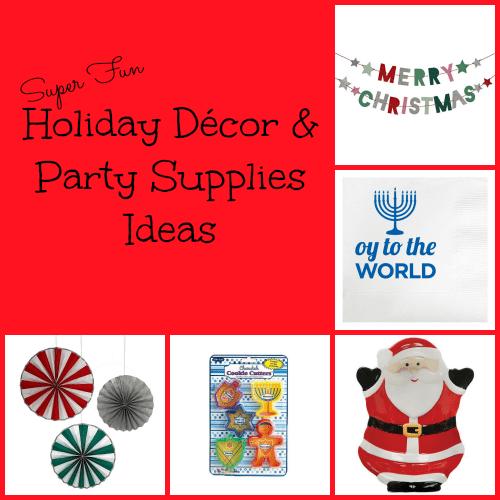 Fun Holiday Décor & Party Supplies Ideas