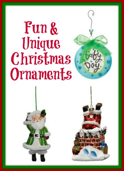 Fun Unique Christmas Ornaments
