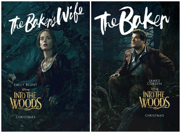 Into the Woods Baker and his Wife Posters