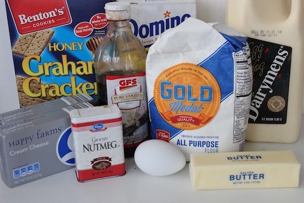 Mini Eggnog Cheesecakes Ingredients