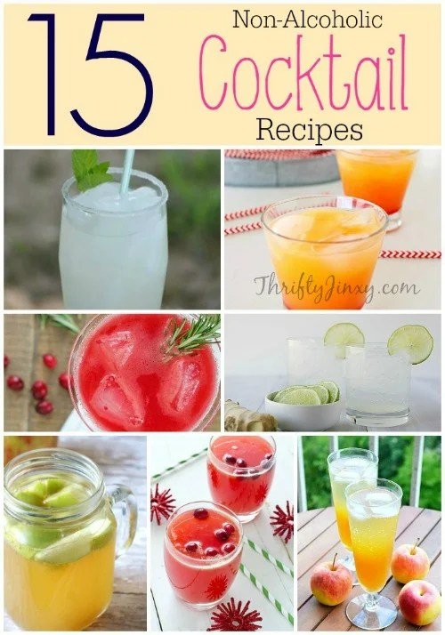 Non Alcoholic Cocktail Recipes