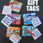 Printable Gum Gift Tags