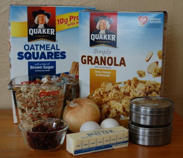 Quaker Oatmeal Squares and Granola