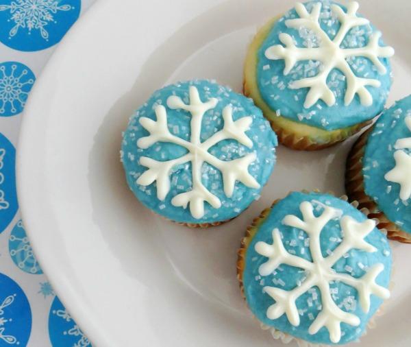 Snowflakes Cupcake Recipe