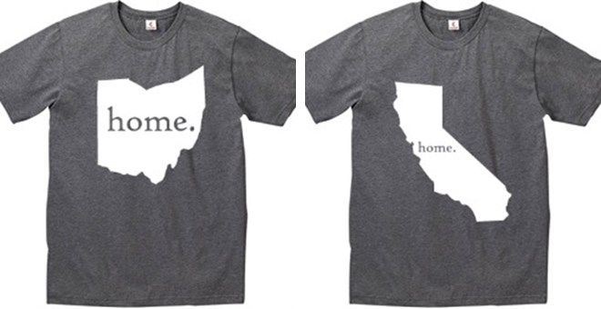 home state t shirts