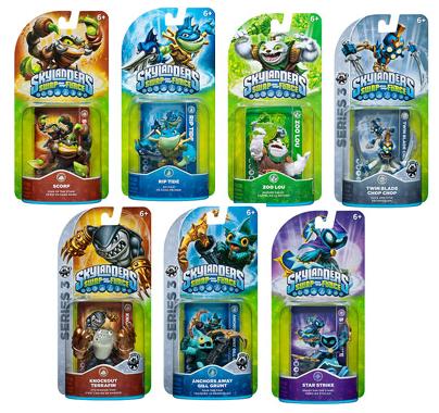 Skylanders Swap Force Character Packs