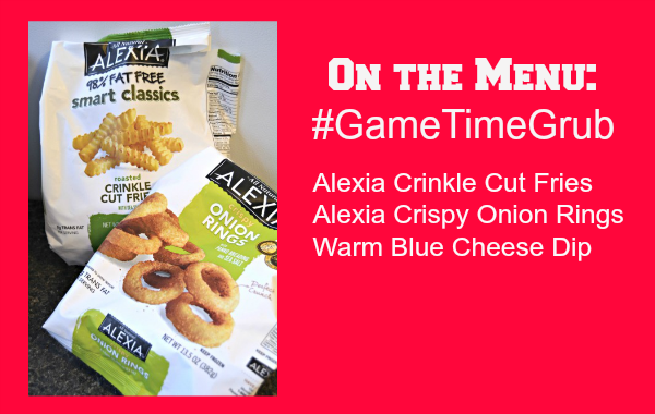 Alexia Crinkle Cut Fries and Crunchy Onion Rings