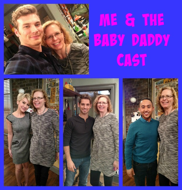 Baby Daddy Cast with Chrysa