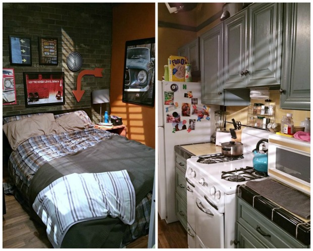 Baby Daddy Set Bedroom Kitchen