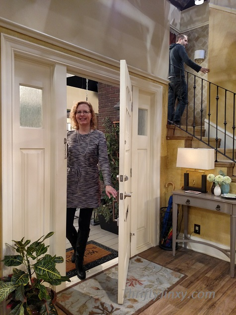 Chrysa Visiting Melissa and Joey