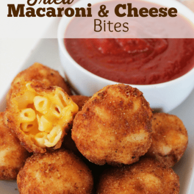 Air Fried Macaroni and Cheese Bites Recipe