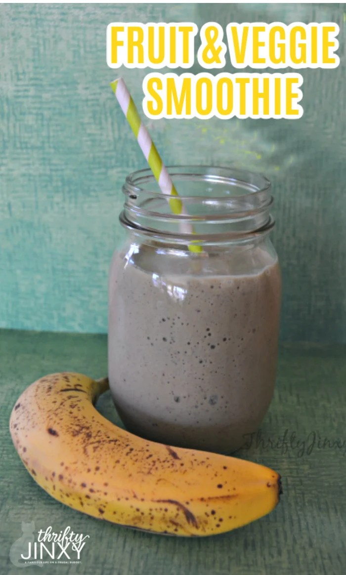 Fruit and Veggie Smoothie Recipe