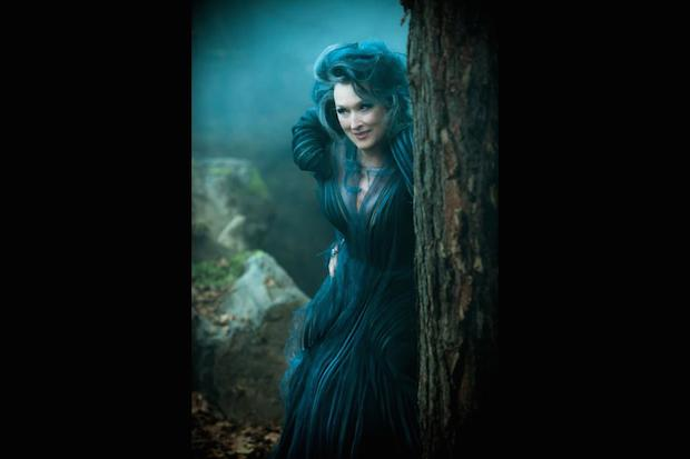 Meryl Streep Into the Woods Blue Costume