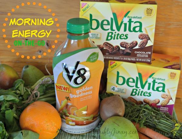 BelVita Bites V8 Protein Blends Morning Energy On the Go