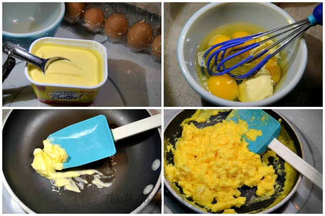 Perfect Scrambled Eggs Recipe Process