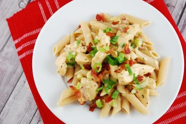 Weight Watchers Chicken Bacon Ranch Pasta