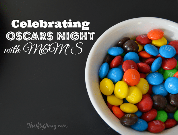 Celebrating Oscars Night with M&MS