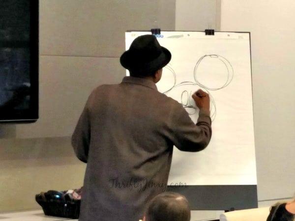 Floyd Norman Drawing Lesson