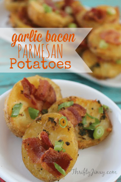Garlic Bacon Parmesan Potatoes Recipe