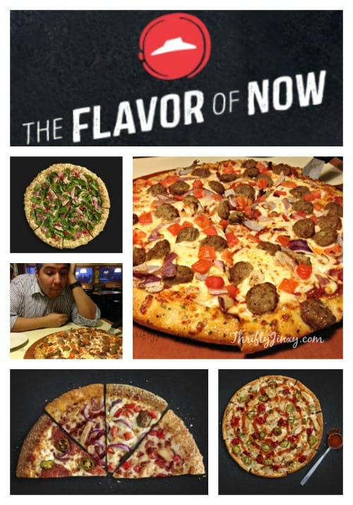 Pizza Hut Flavor of Now