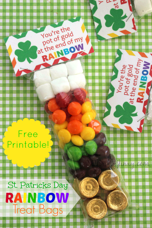 St. Patrick's Day Rainbow Treat Bag