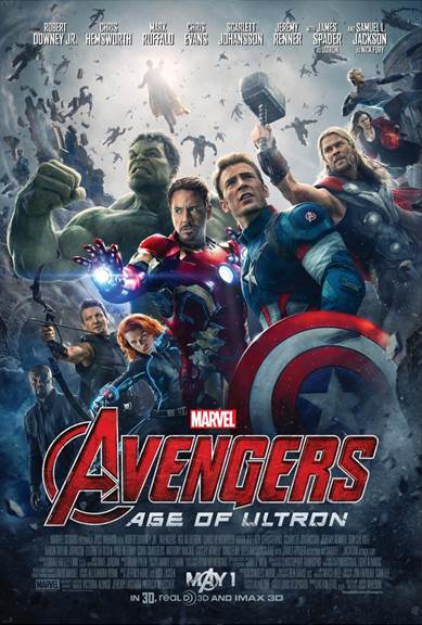 AVENGERS- AGE OF ULTRON Poster