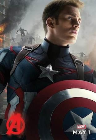Captain America Ultron Poster