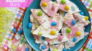 Easter Candy Macadamia Bark Recipe