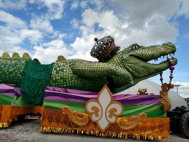 King Gator Float Universal Orlando