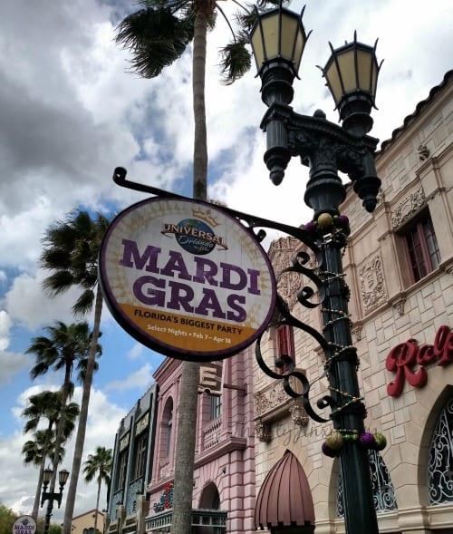 Mardi Gras Universal Orlando Resort