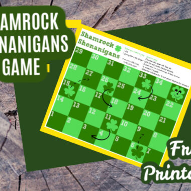 Printable St. Patrick's Day Game