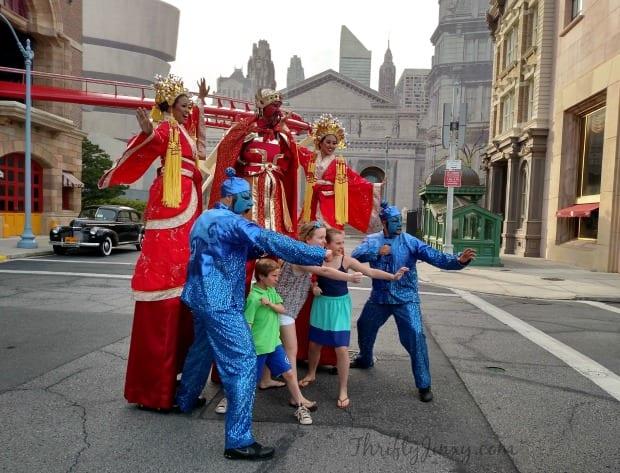Universal Orlando Mardi Gras Performers