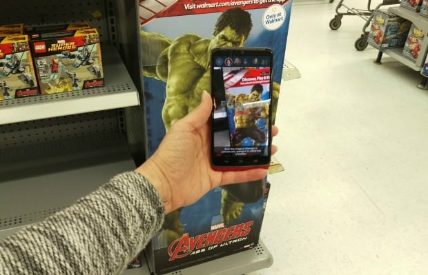 Avengers App Walmart