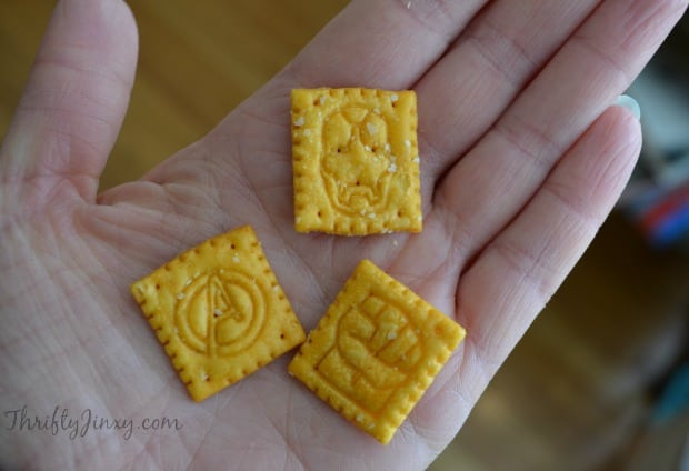 Avengers Cheez-It