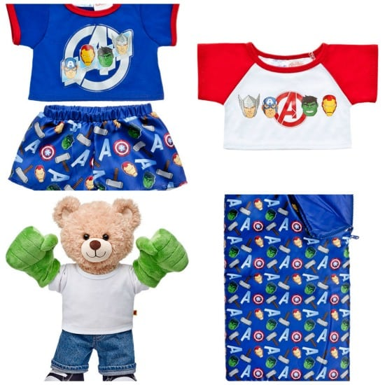 Build-a-Bear Avengers Accessories