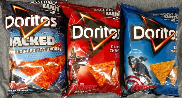 Doritos Avengers Characters