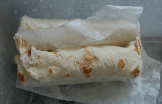 Frozen Burritos