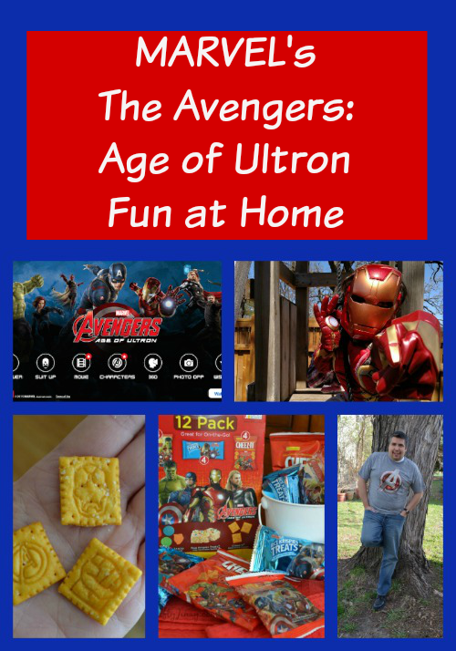 MARVEL's The Avengers Age of Ultron Fun at Home
