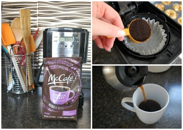 McCafe Coffee Collage