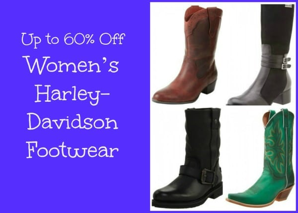Up to 60% Off Women's Harley-Davidson Boots!