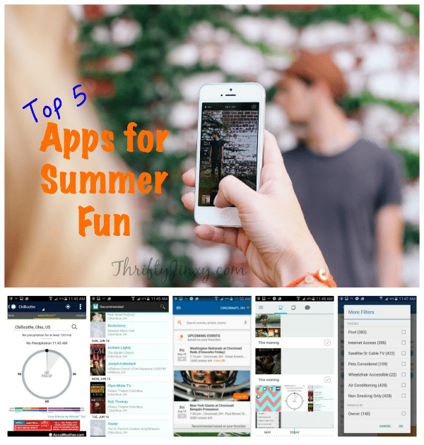 Apps for Summer Fun