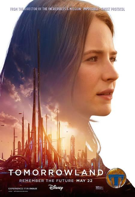 Britt Robertson Tomorrowland Poster