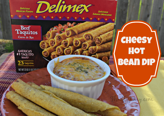 Cheesy Hot Bean Dip Recipe Delimex