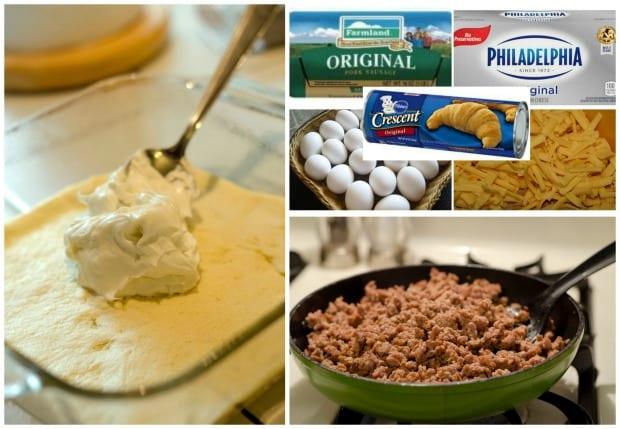 Easy Breakfast Scramble Recipe Process